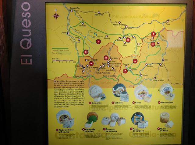 Guía de Quesos de la zona de Covadonga