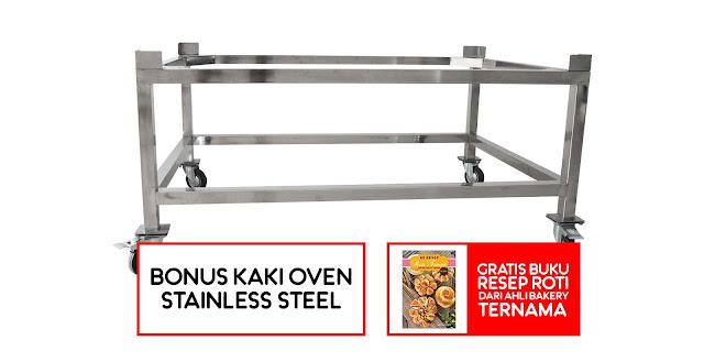 Oven Roti Import Merek Revon (Garansi Resmi + Bonus Kaki Oven)