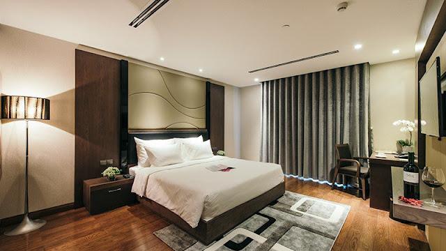 Phòng ngủ lớn và hiện đại