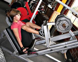 Prensa ejercicios mujeres