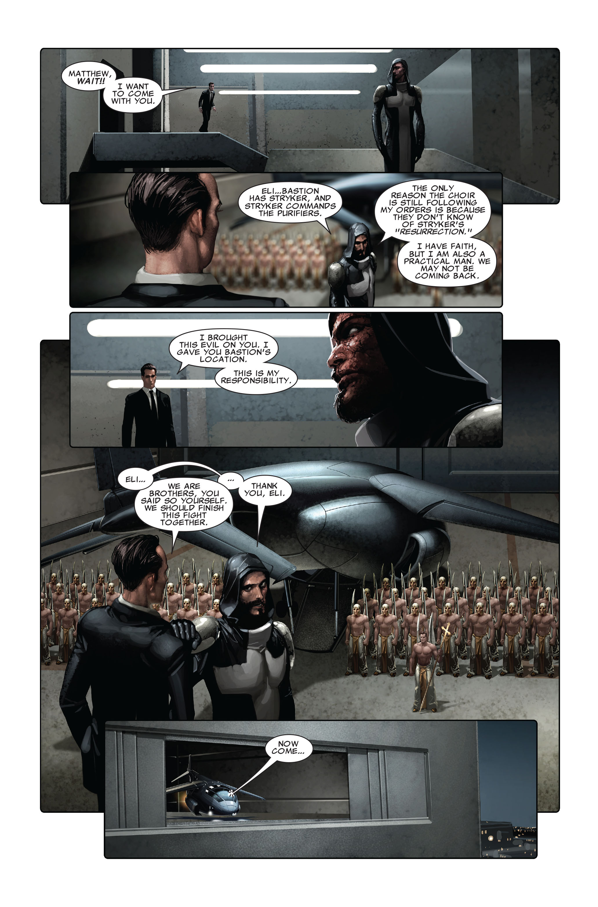 Read online X-Force (2008) comic -  Issue #5 - 7