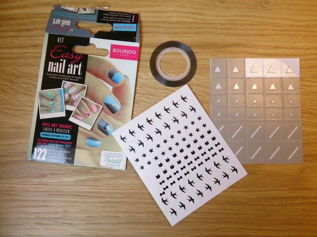 Kit Easy Nail Art de Bourjois - le corner d'Evangeline