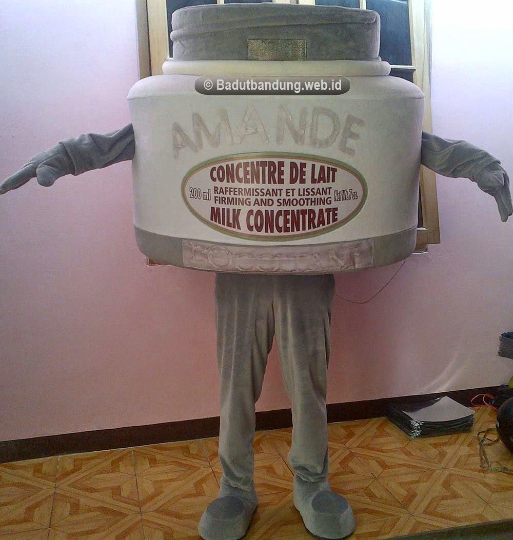 gambar badut amande maskot cream jakarta