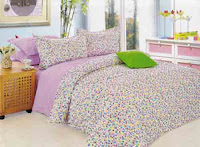 Contoh bed cover berbahan kain katun jepang