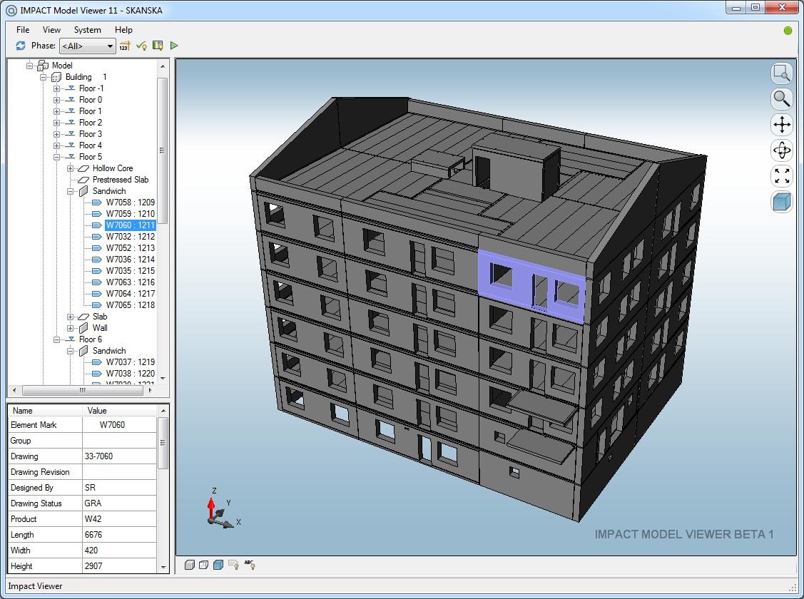 SIM SALA BIM: IMPACT Model Viewer (MV)