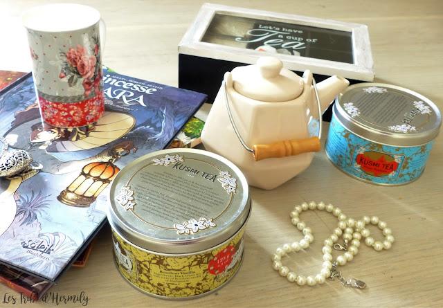Thé tea time Damman Frères Kusmi Tea Lifestyle