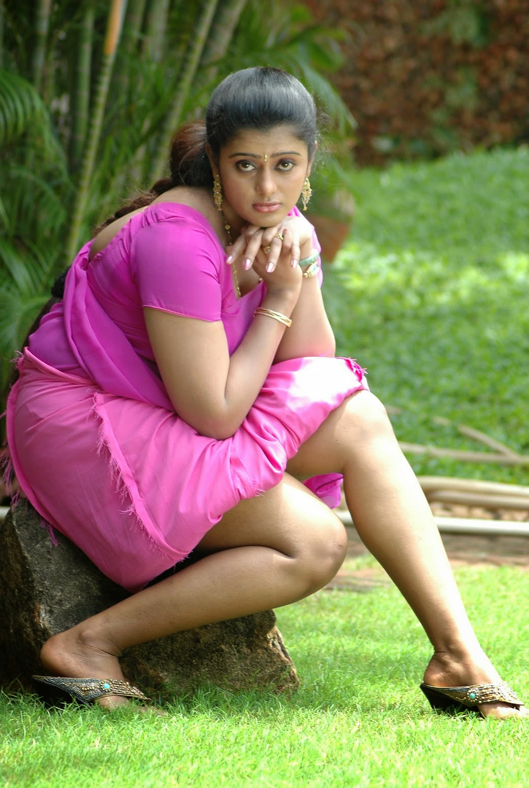 Tamil Mallu Aunty Varsha Hot  Spicy Photo Album  Mallu -9949