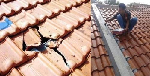 cara memperbaiki genting rumah yang bocor dengan tepat dan benar