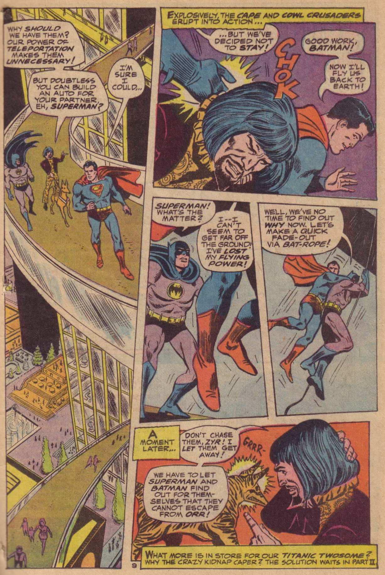 Read online World's Finest Comics comic -  Issue #181 - 10