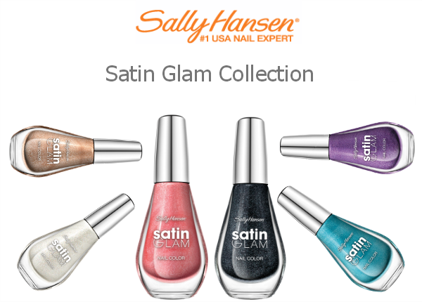 Sally Hansen Satin Glam Limited Collection