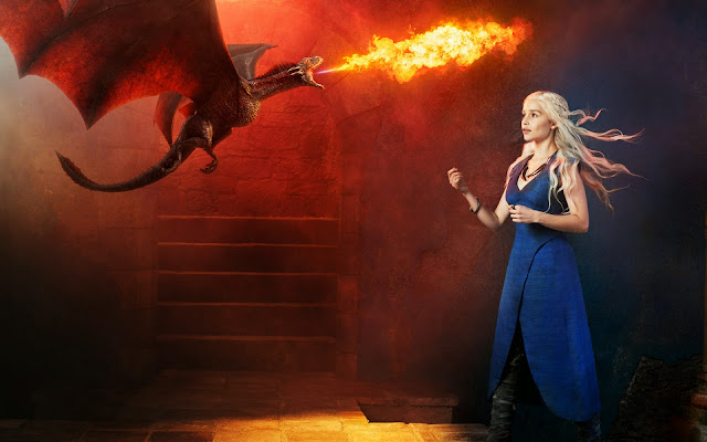 Game Of Thrones Daenerys Targaryen hd 1080p para computador pc
