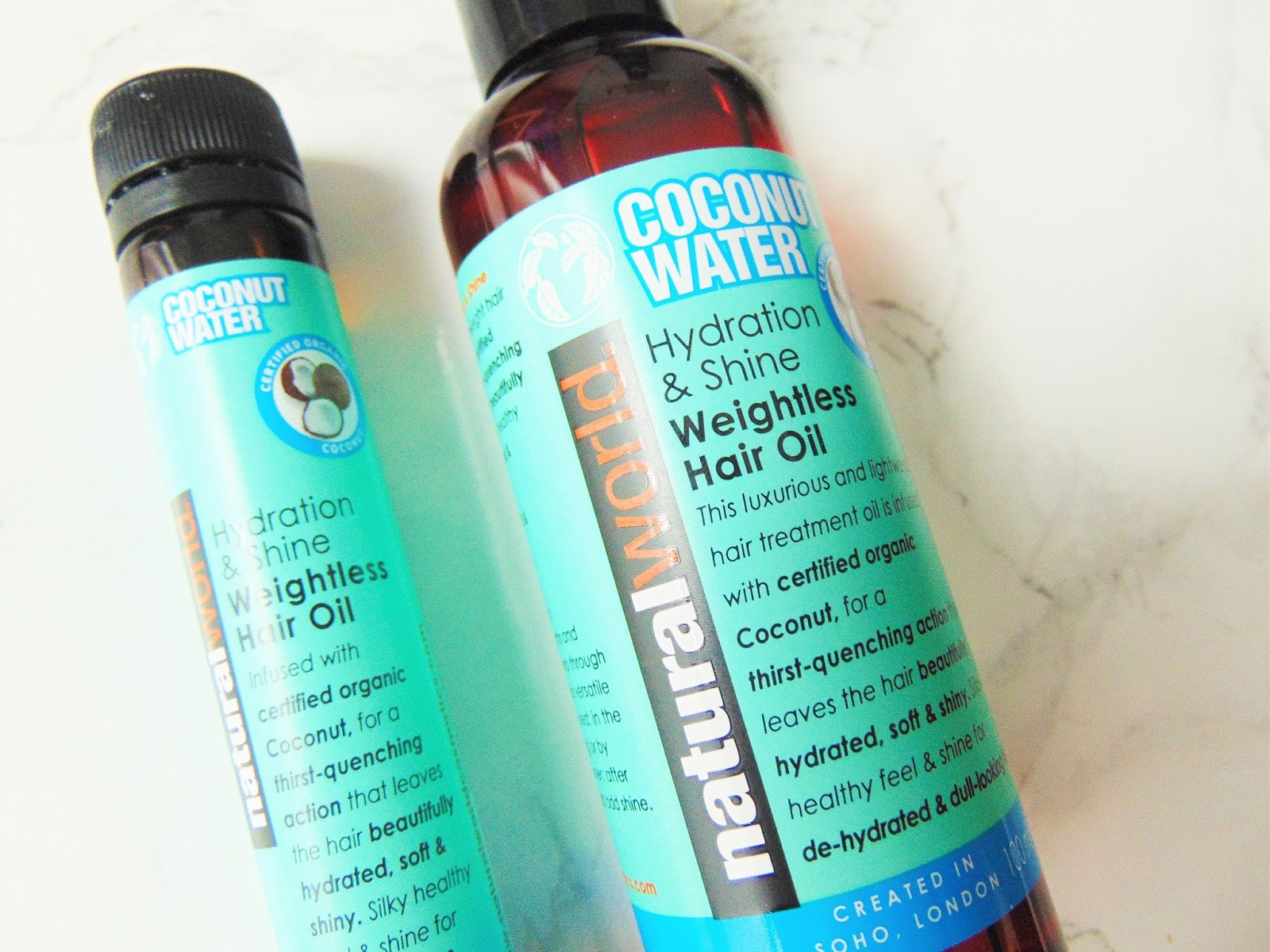 Natural Water Coconut Water Hair Oil