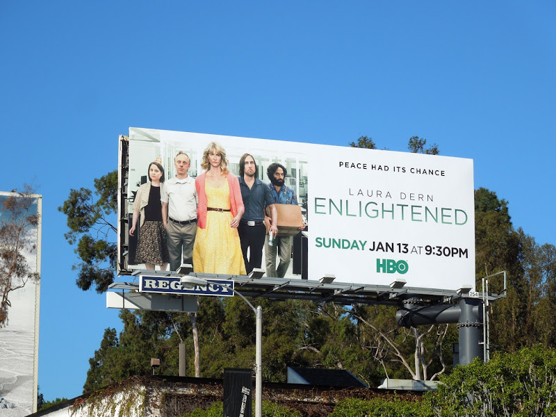 Enlightened season 2 HBO billboard