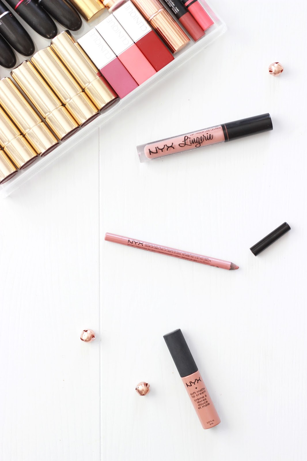 NYX Lip Lingerie, NYX Slide On Lip Pencil, NYX Soft Matte Lip Creams