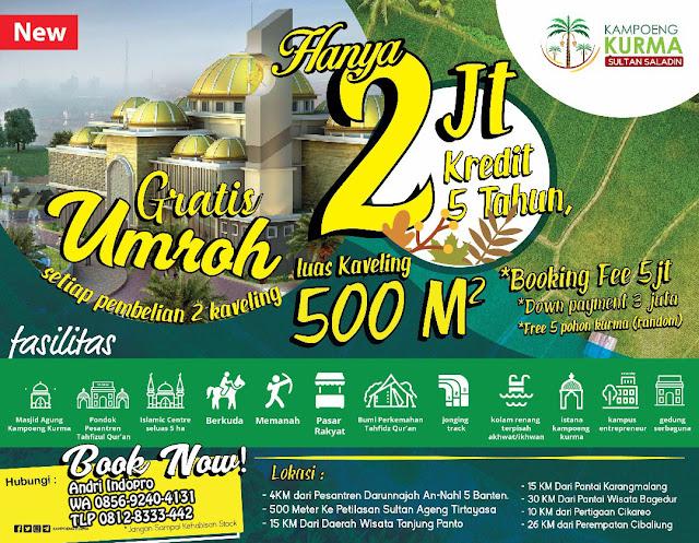 Kampung Kurma, Kampung Kurma Jonggol, Kavling Kampung Kurma, Kavling Kurma Banten