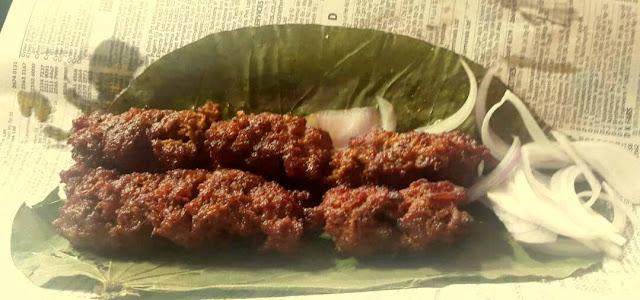 Beef Seekh Kababs