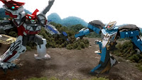 Brave Tyranno King vs Pteravolt
