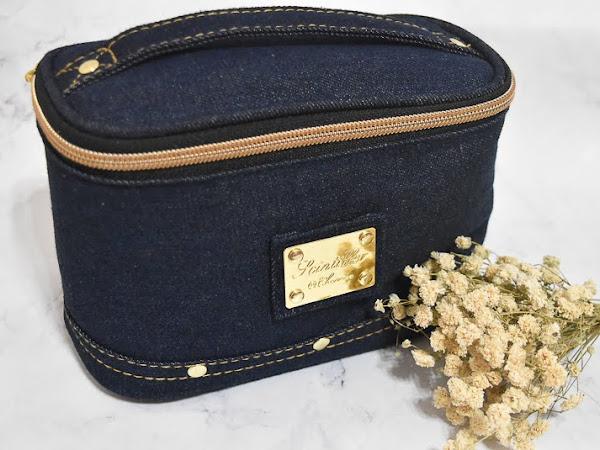 日本化妝包開箱 ▍超推薦女孩、方便攜帶的直立式化妝包!!!
