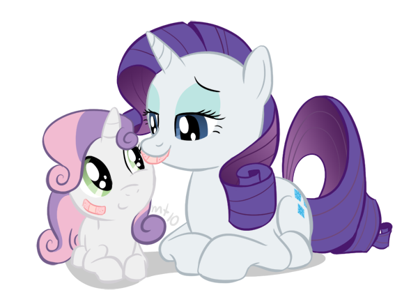 My little pony rarity and sweetie belle - photo#39