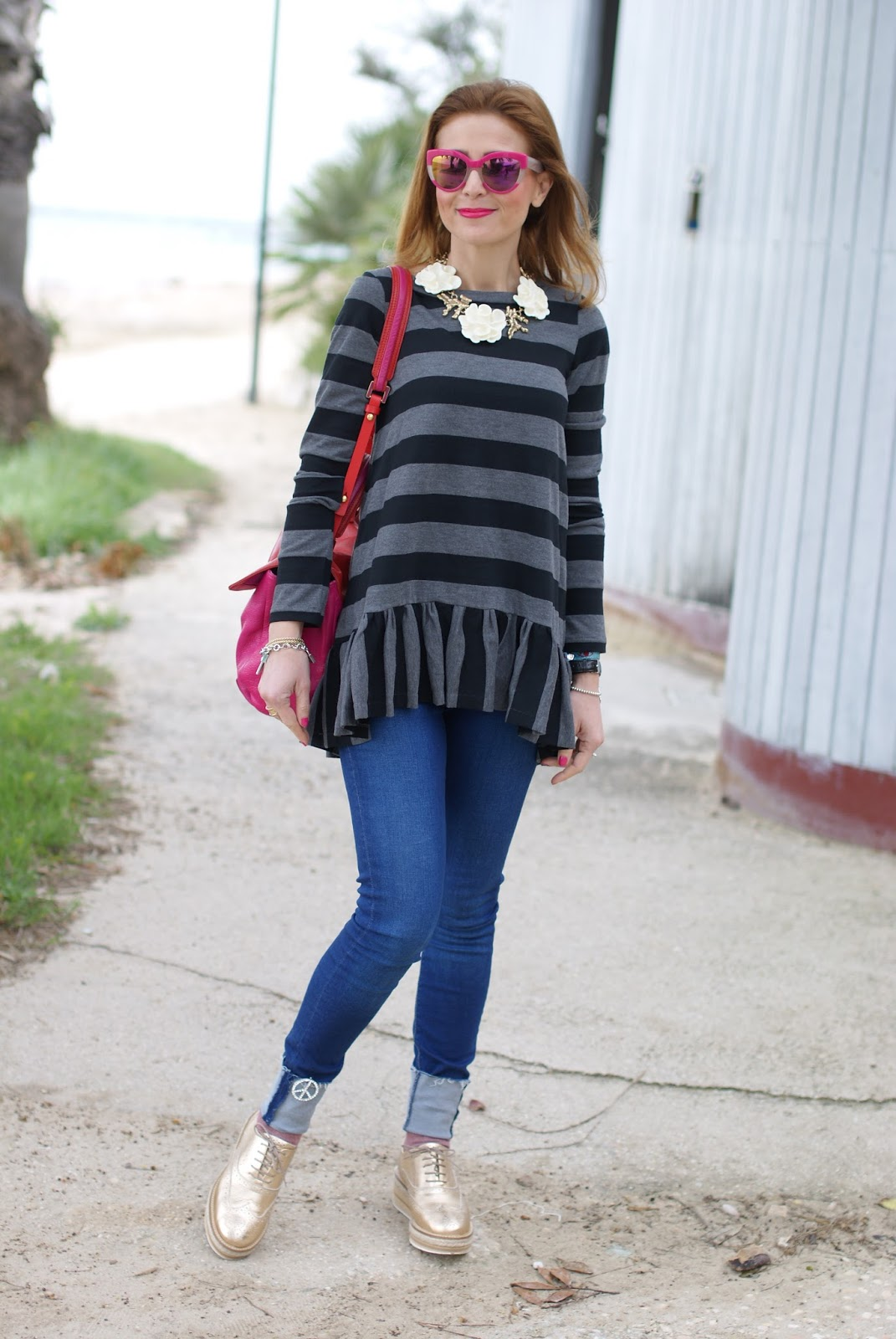 Stripes And Ruffles Fashion And Cookies Bloglovin