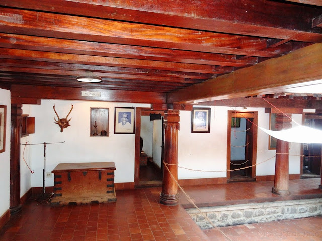 "Dakshinachitra - ""Nadumuttom"" - The traditional interior courtyard of Kerala house"