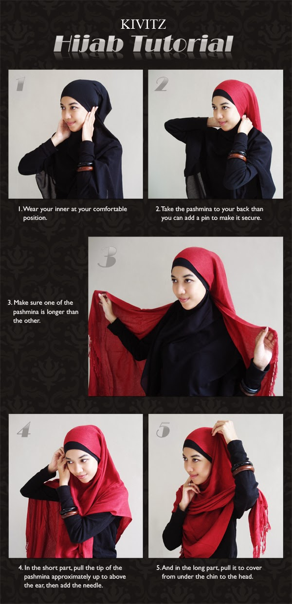 Hijab Tutorial From Kivitz