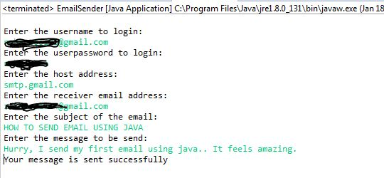 How to send email using JavaMail API | JAVA - PLEXINFO