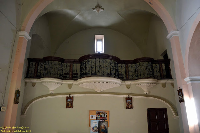 alobras-teruel-iglesia-parroquial-coro