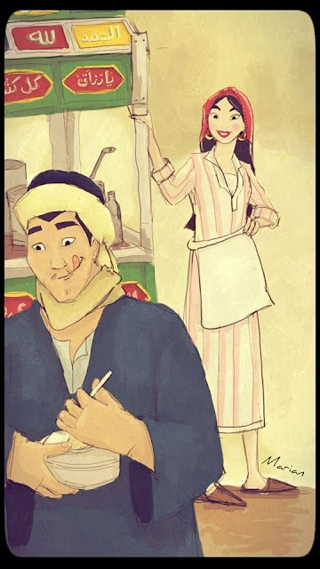 Mulan and Li Chang