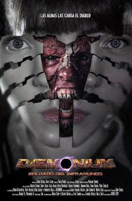 Daemonium: Underground Soldier 2015 DVD Custom NTSC Latino