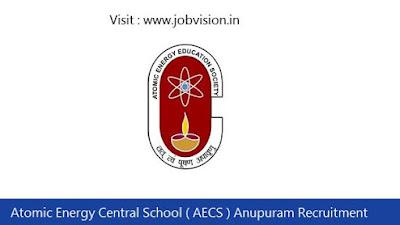 AECS Anupuram Recruitment