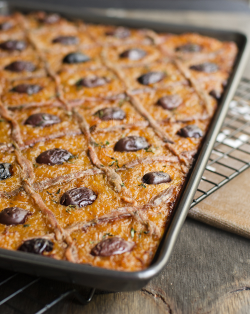 French ~ Pissaladiere