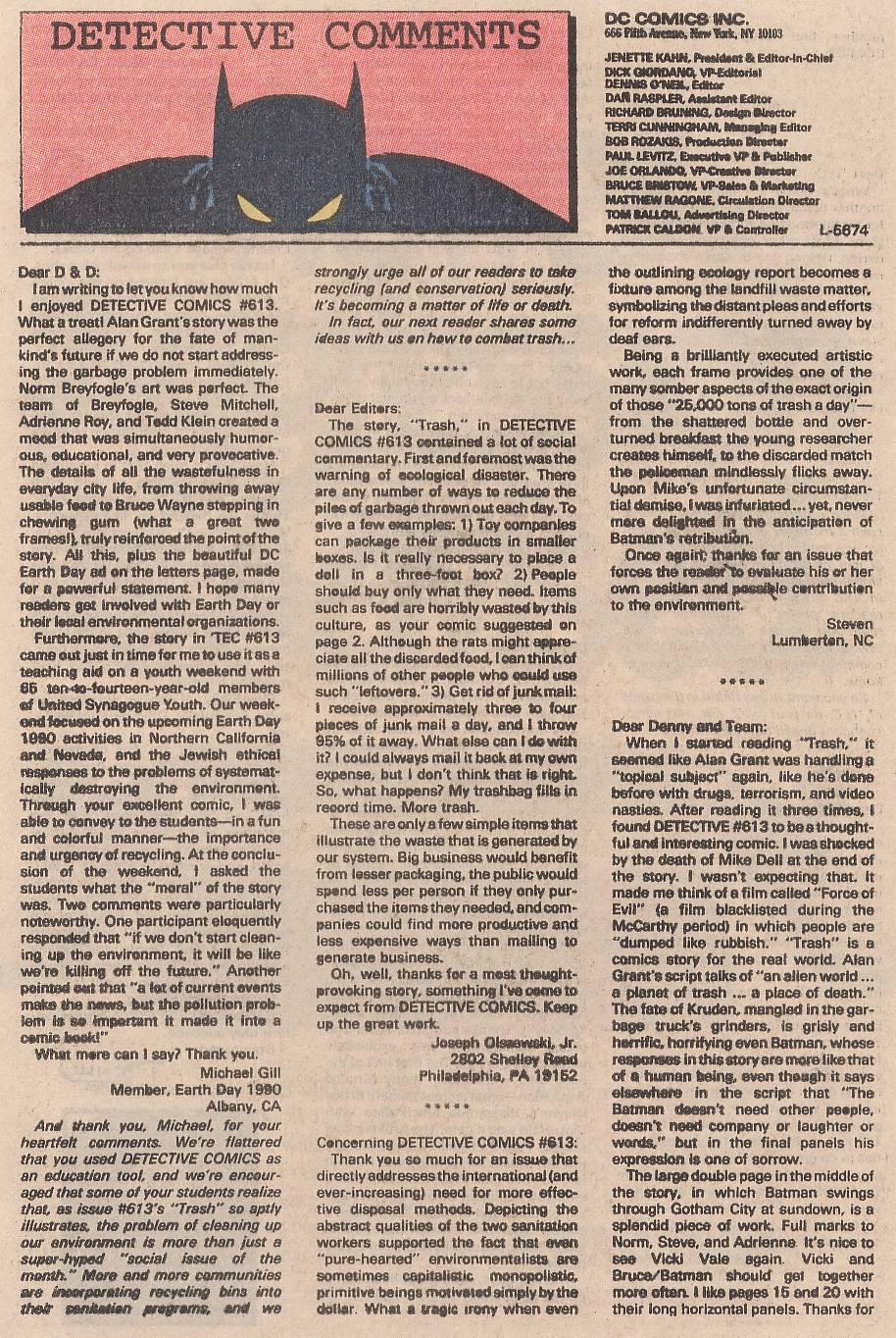 Detective Comics (1937) 617 Page 22