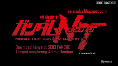 MS Gundam Narrative - Initial 23 Minutes Subtitle Indonesia