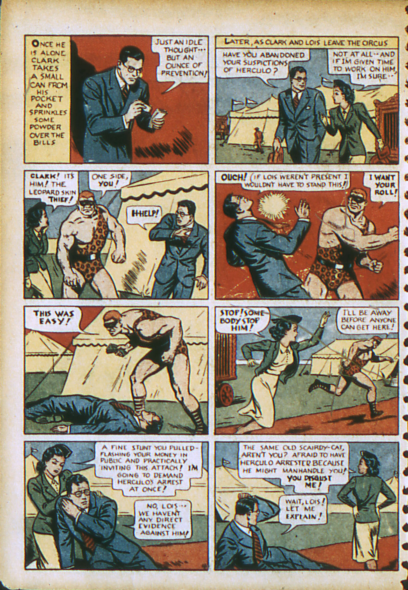 Read online Action Comics (1938) comic -  Issue #28 - 7