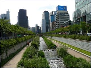 คลองชองเกชอน (Cheonggyecheon Stream)