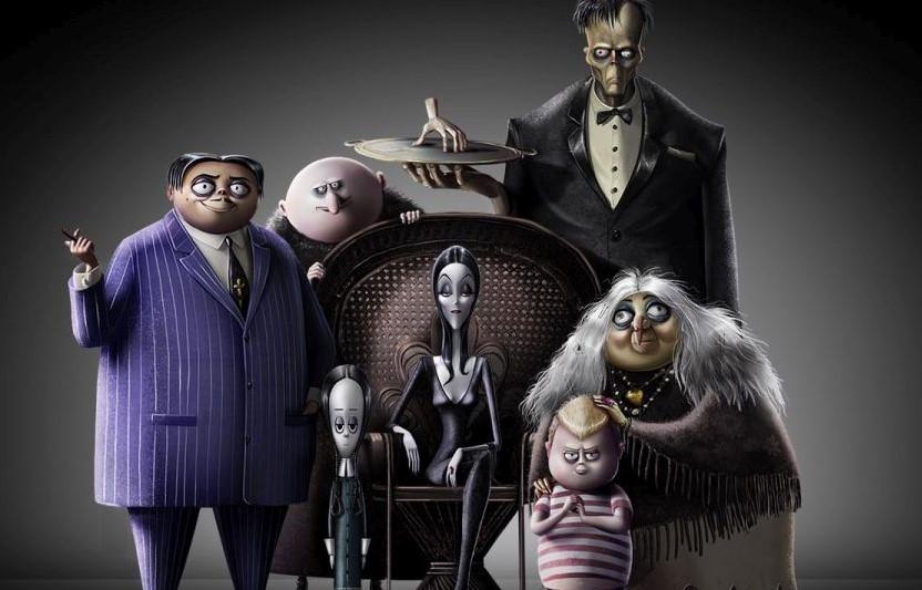 A Família Addams | Revelada primeira imagem da animação & elenco de vozes estelar