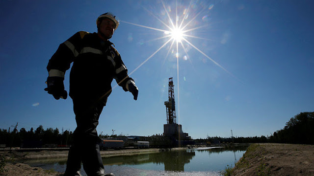 Los precios del petróleo suben tras el llamado a la cooperación por parte de Rusia y Arabia Saudita