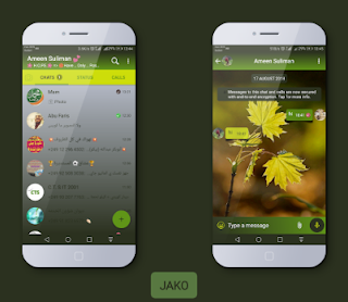 GreenFlower Theme For YOWhatsApp & Fouad WhatsApp By Jako