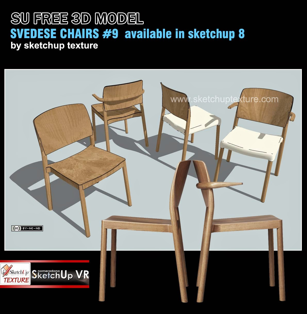 Chair Design Sketchup White Leather Chairs For Living Room Texture Models And Easy