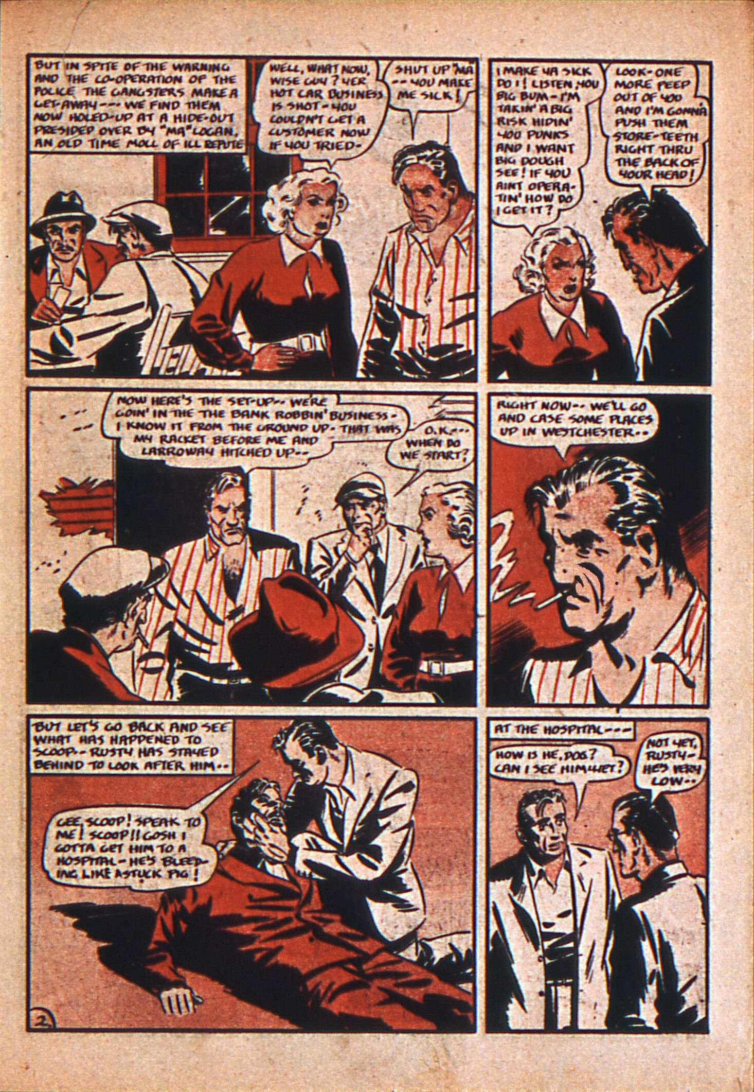 Read online Action Comics (1938) comic -  Issue #12 - 18