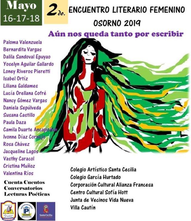 Segundo Encuentro Literario Femenino en Osorno