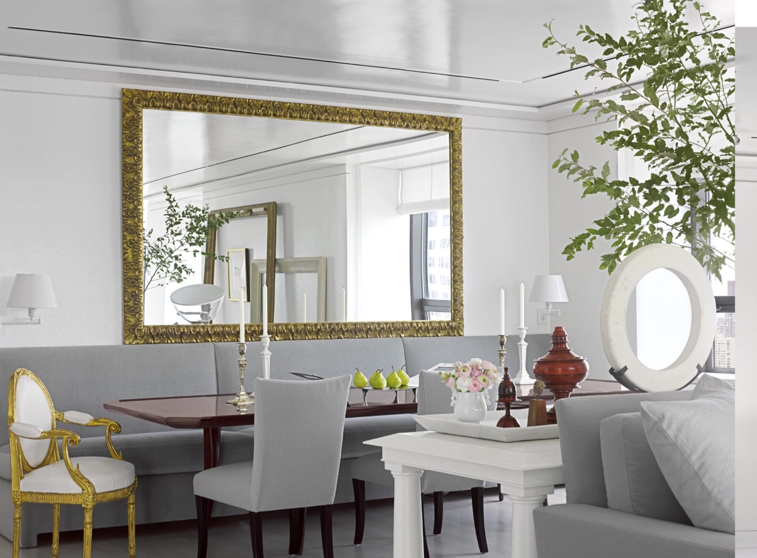 Splendid sass vicente wolf design in manhattan for Ann wolf interior decoration