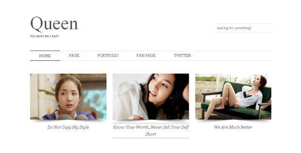 FREE Queen Blogger Template