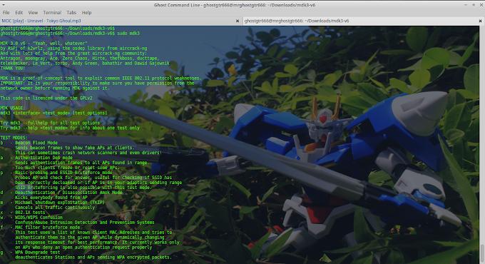 Installasi MDK3 di BackBox GNU/Linux