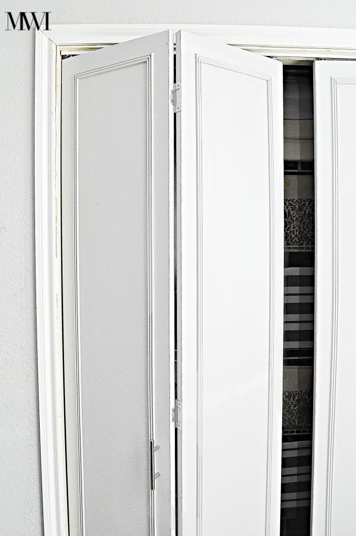 How To Update 1970 S Bi Fold Closet Doors Monica Wants It