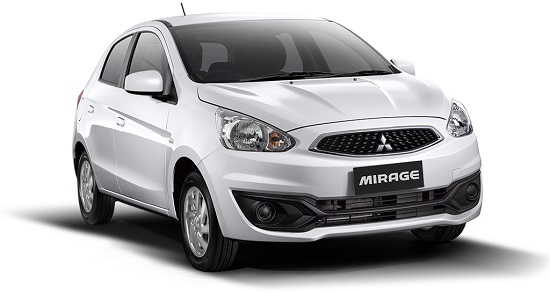 mitsubishi new mirage glx