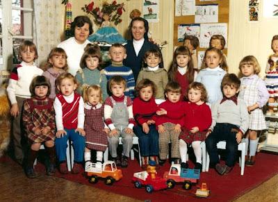 Photo de classe, école maternelle polonaise des Gautherets, 1980 (collection musée)