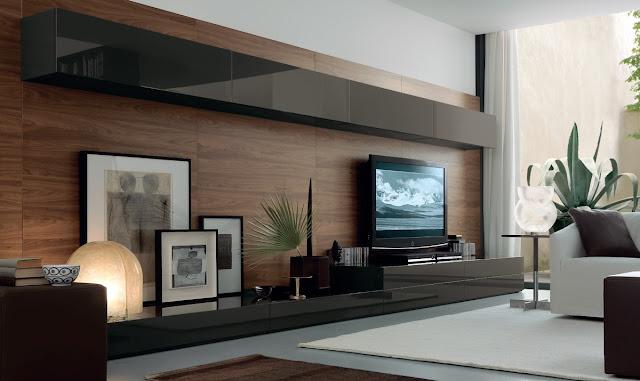 Dekorasi Rak TV Dinding