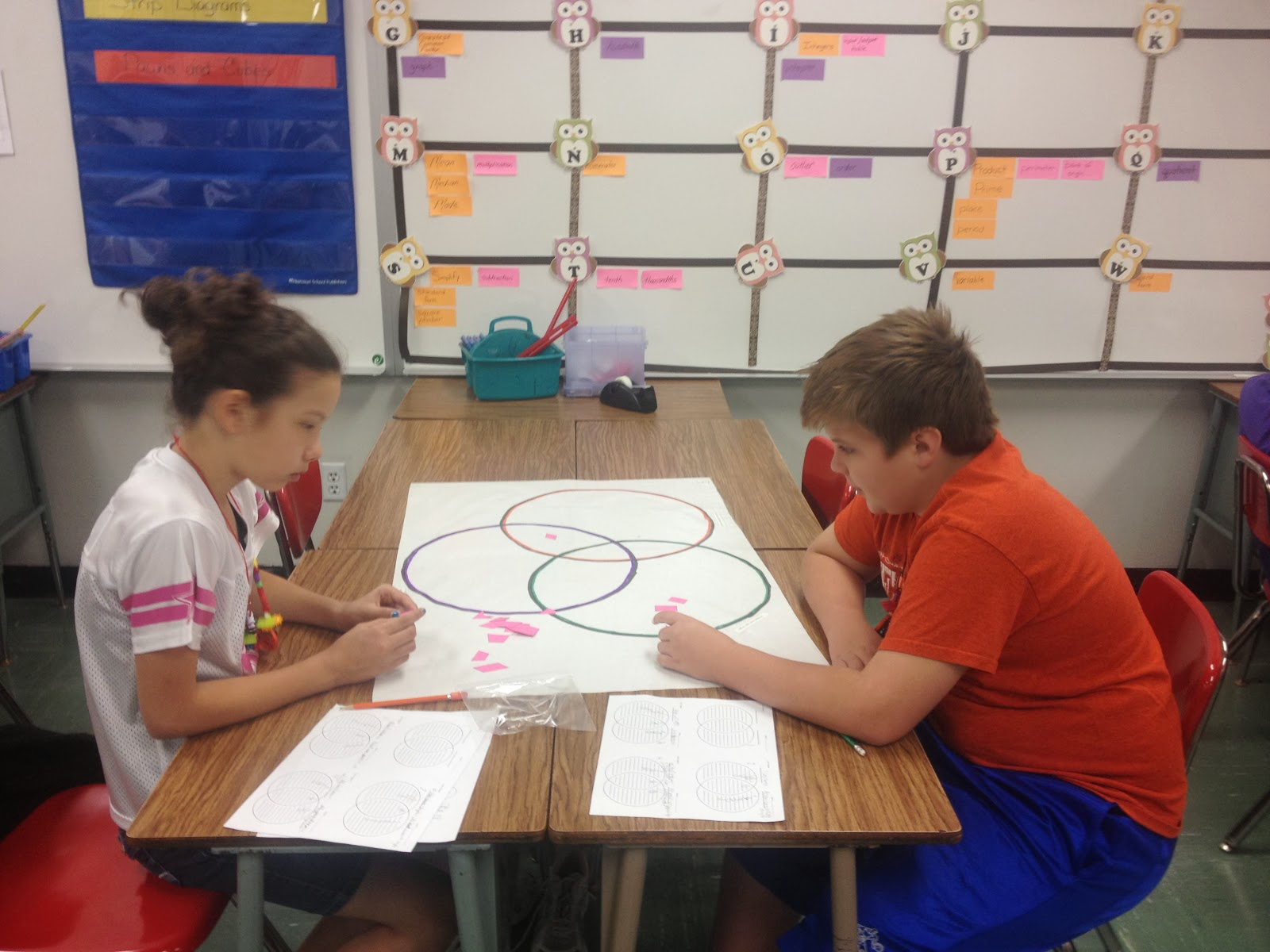 Math With Mrs D Quadrilateral Attributes 2 Way And 3